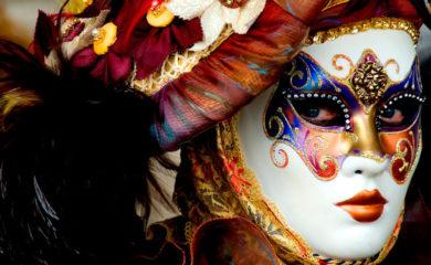 маска венецианская