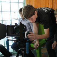 дети с камерой